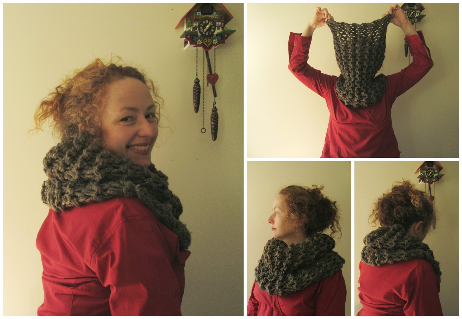 Knitting Pattern For Claire s Cowl : Polly Foo Foo: Sassenach Claire Starz Outlander Cowl Free Pattern