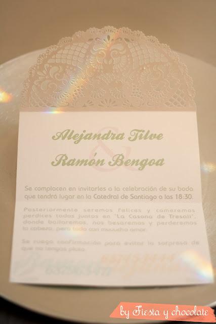 Invitación boda aires de Sevilla