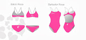 Bañador-Bikini marca Thaïs