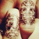 anillos de compromiso, tatuajes compromiso, tatuaje anillos de compromiso, match tattoos, love tattoos, tatuajes amor