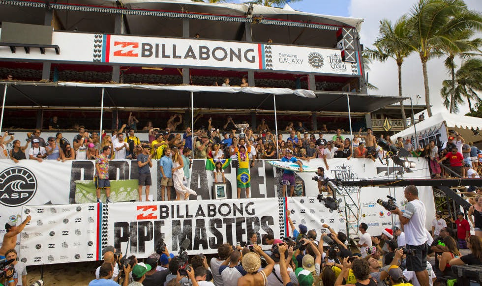 20 Billabong Pipe Masters Gabriel Medina Foto ASP