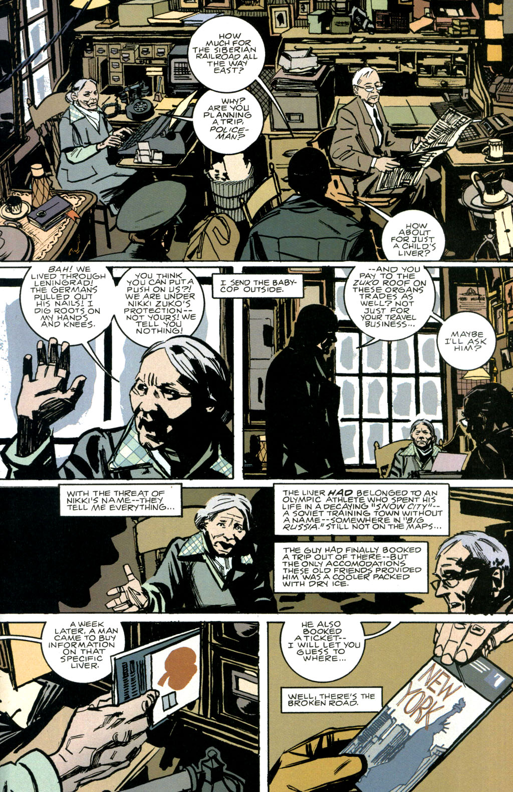 Read online The Winter Men comic -  Issue #1 - 24