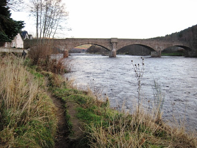 Deeside Walks: the route around Ballater Golf Course by the River Dee