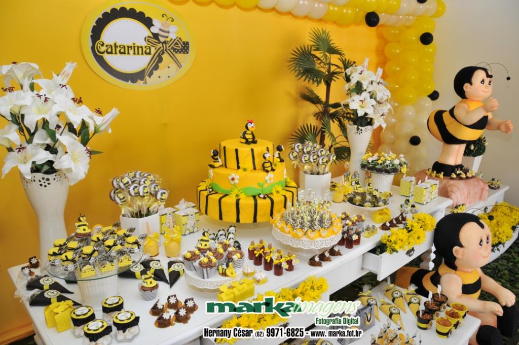 Mimos Com Papel Aniversário Abelhinha