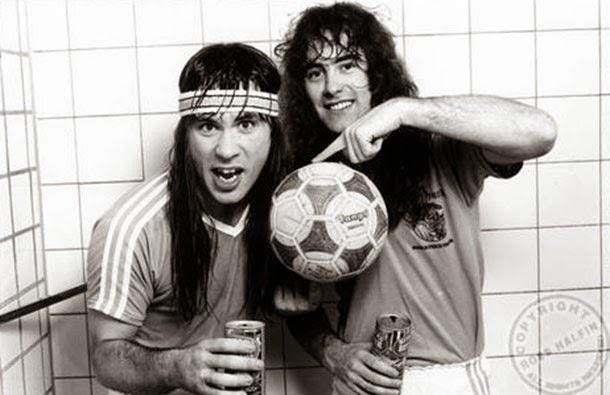 Camisas do Iron Maiden para Copa do Mundo