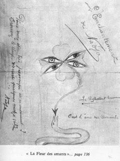 desene André Breton, desene gellu naum zenobia, nadja