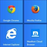 impostazioni Chrome, IE e Firefox