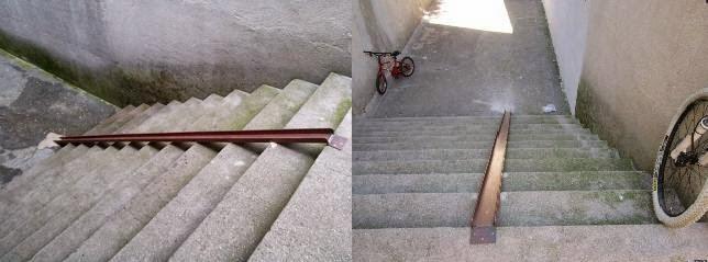 Nueva rampa para bicis en el Ágora