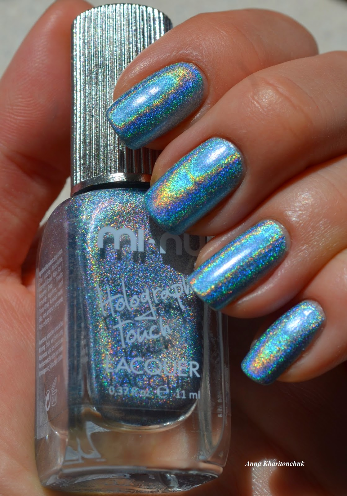 Mi-Ny Holographic Touch Blue