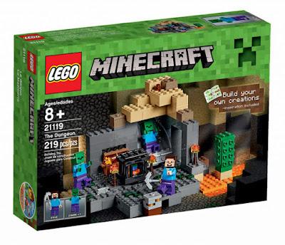 JUGUETES - LEGO Minecraft  21119 La Mazmorra | The Dungeon  Producto Oficial 2015 | Piezas: 216 | Edad: +8 años