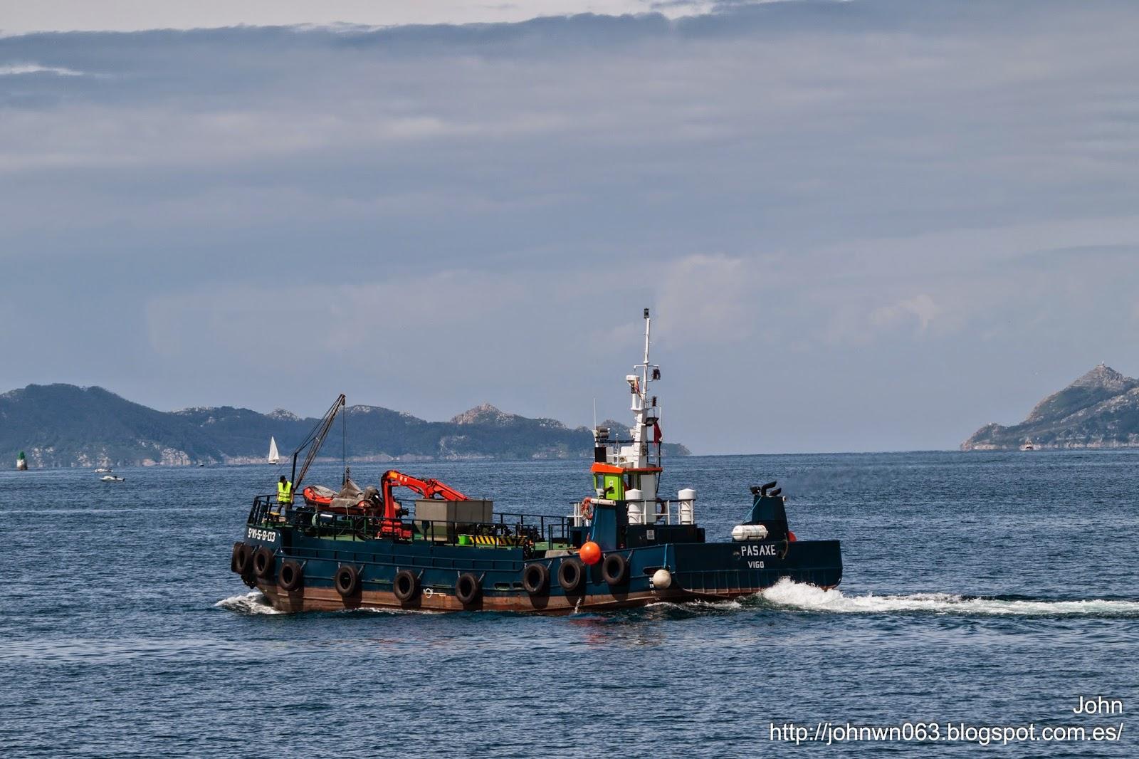 fotos de barcos, imagenes de barcos, pasaxe, marpolgal, vigo