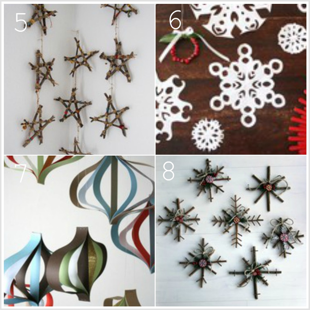 Keep home simple a collection of christmas crafts for for Pinterest christmas craft ideas