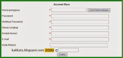 registrasi member ituPoker.net