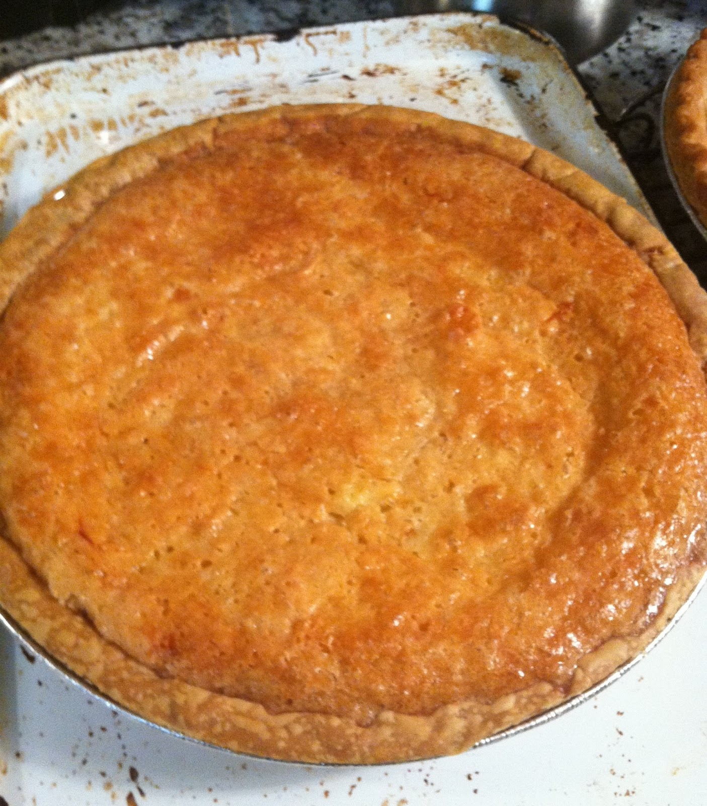 Twirl and Taste: Lemony Buttermilk Pie - a Southern secret for ...