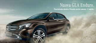 Canzone pubblicità Mercedes GLA Enduro Aprile 2015, spot cavalli e deserto