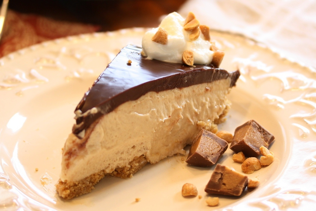 No. 8 - Chocolate Peanut Butter Pie - Saving Room for Dessert