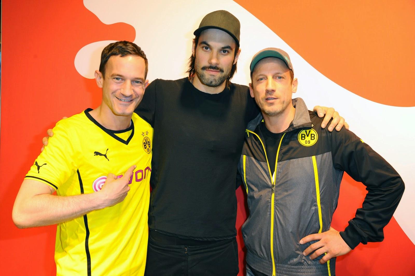 LAURUS-Fashiontipps: BVB Dortmund und seine prominenten Fans ...