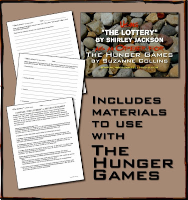 The Lottery by Shirley Jackson Short Story Unit from www.hungergameslessons.com