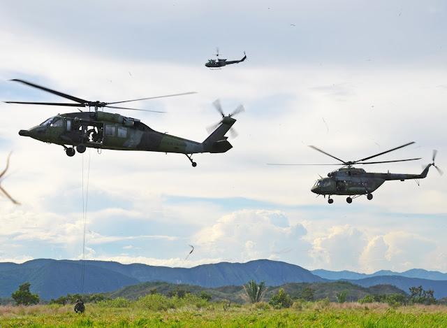 La Aviación del Ejército de Colombia demostrará sus capacidades y las lecciones aprendidas a lo largo del conflicto interno en la Conferencia Internacional de Aviación de los Ejércitos - CIAVEC.