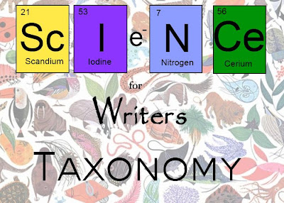 science for writers - taxonomy
