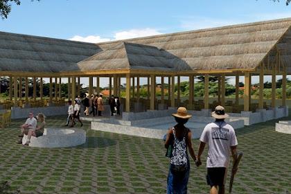 Jasa Desain Cafe Bambu, Desain Cafe Taman, Desain Cafe Dermaga