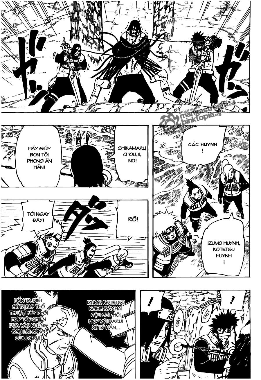 Naruto chap 530 Trang 9 - Mangak.info