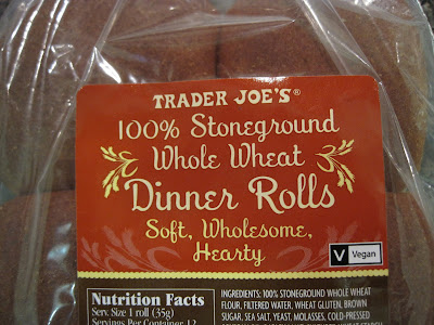 Trader Joe's Whole Wheat Dinner Rolls
