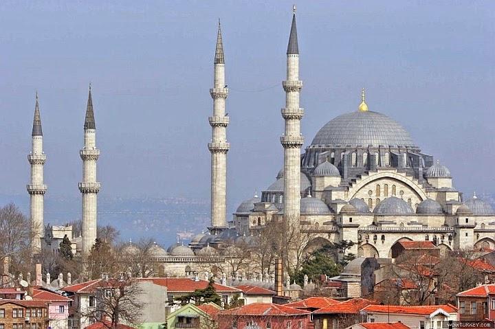 İstanbul Süleymaniye Camii - Mimar Sinan