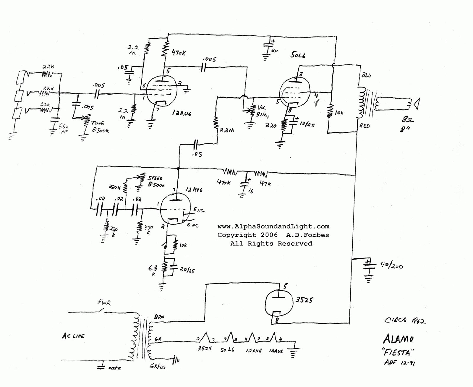 alamo amp schematics wiring schematic diagram alamo guitar amp alamo amp schematics #2