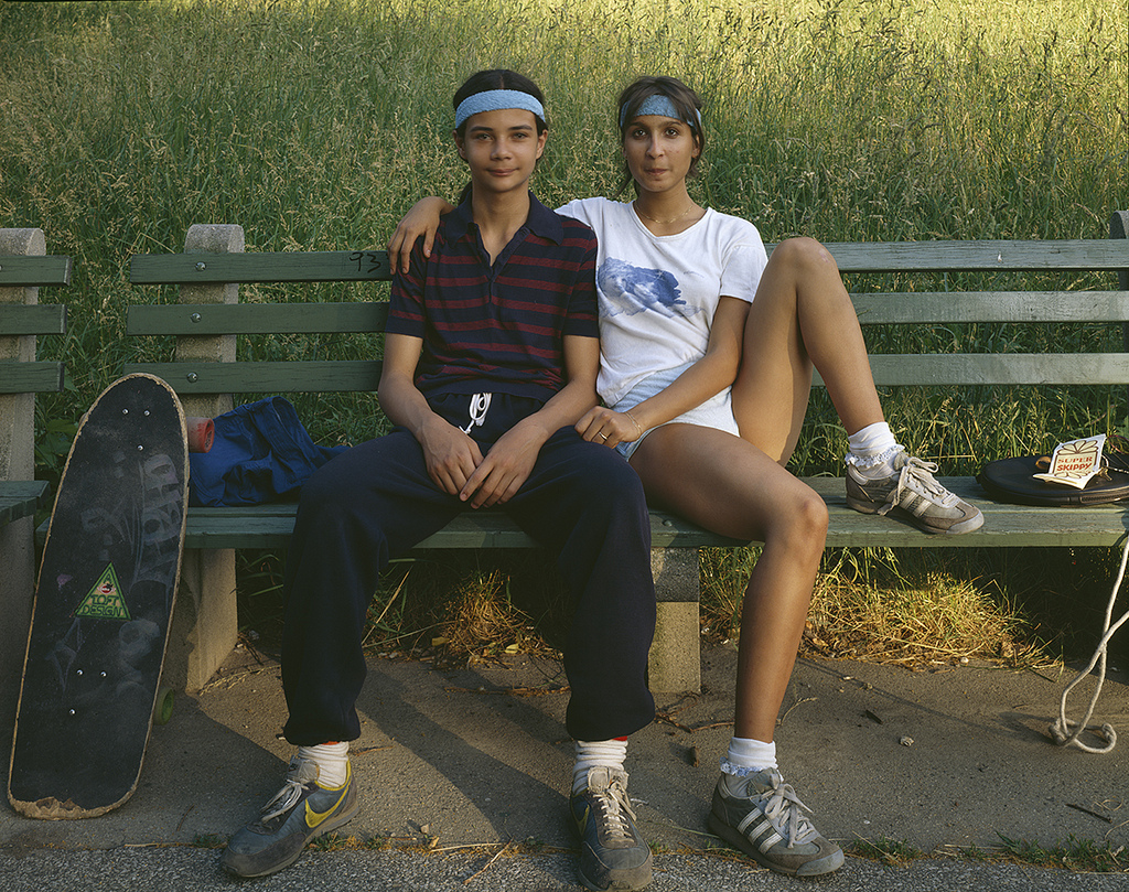 friends in central park  1980s