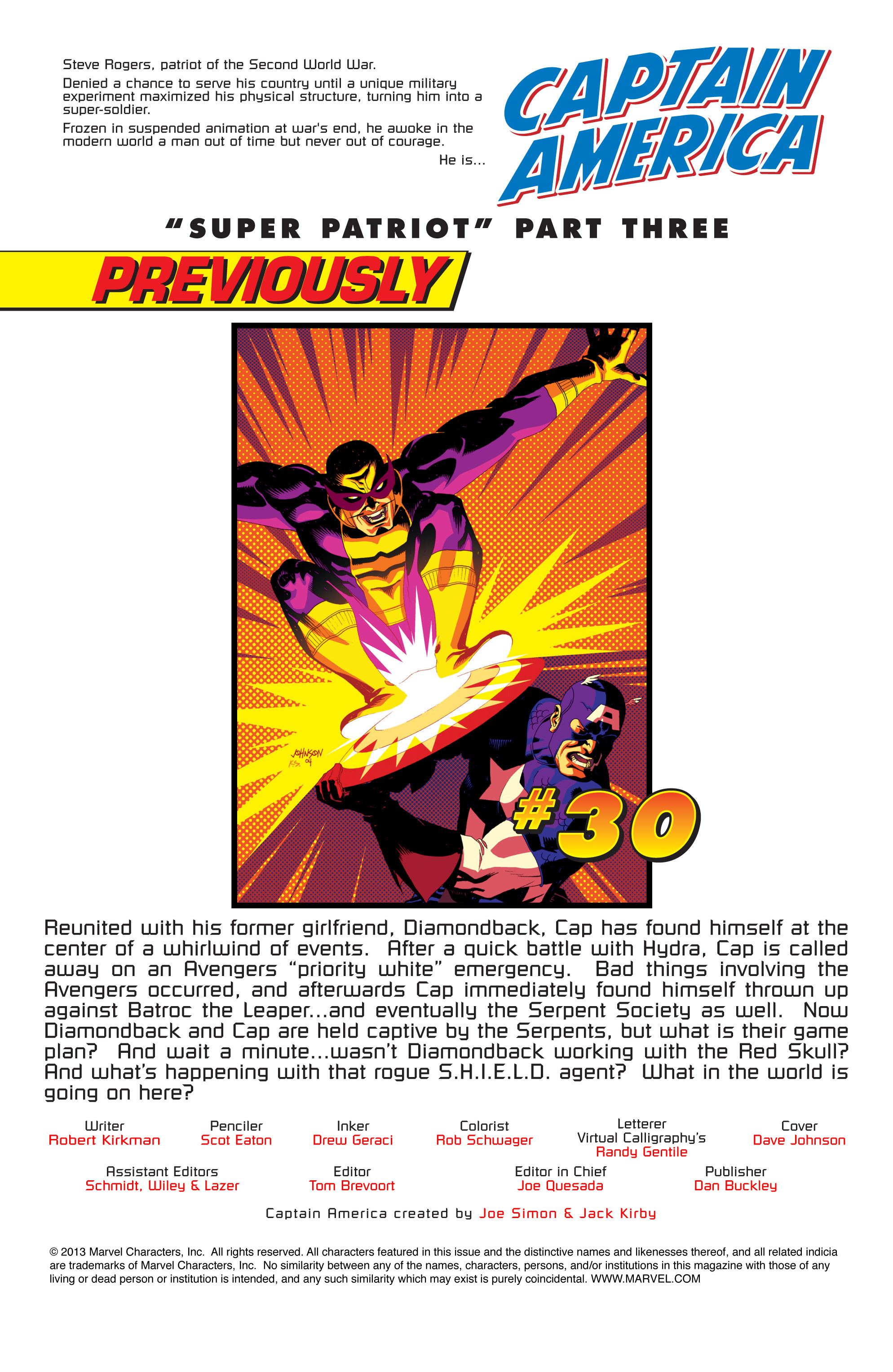 Captain America (2002) Issue #31 #32 - English 2