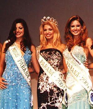 TOP 3 - MISS PARANÁ 2004