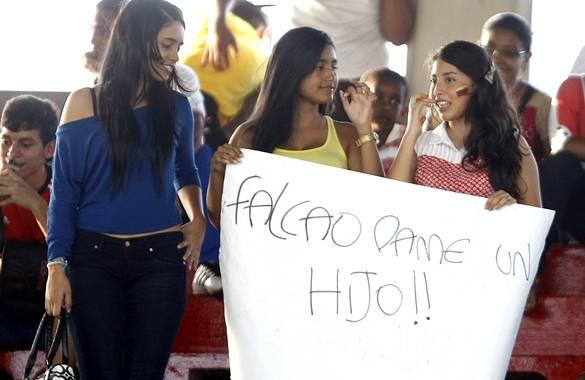 La 'Falcaomanía' se tomó Barranquilla