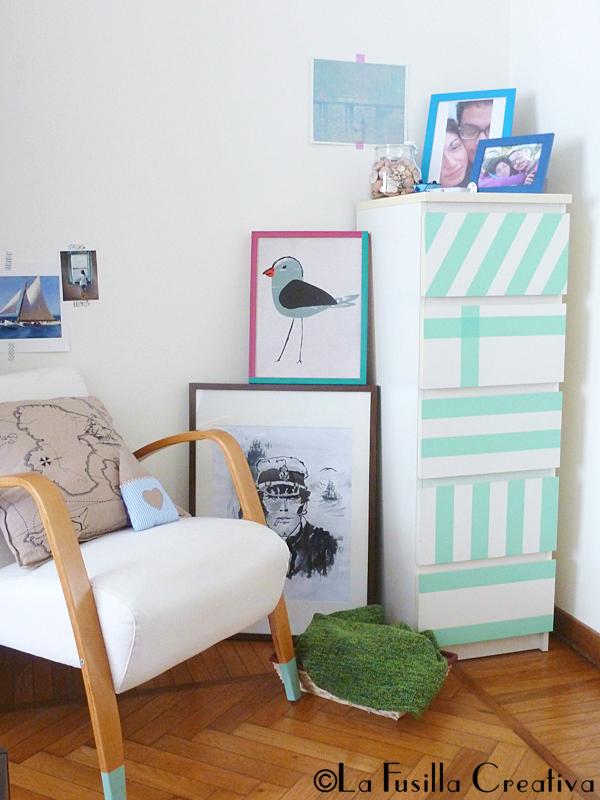 La fusilla creativa idee per decorare i mobili della for Decorare la stanza da letto