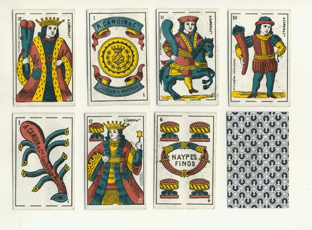 Испанская традиционная колода 1590 год