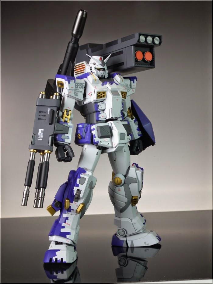 Mg 1 100 Fa 78 1b Full Armor Gundam Type B Custom Build Gundam Kits Collection News And Reviews