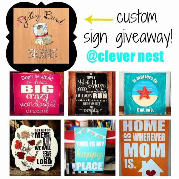 $30 Jelly Bird Sign giveaway!