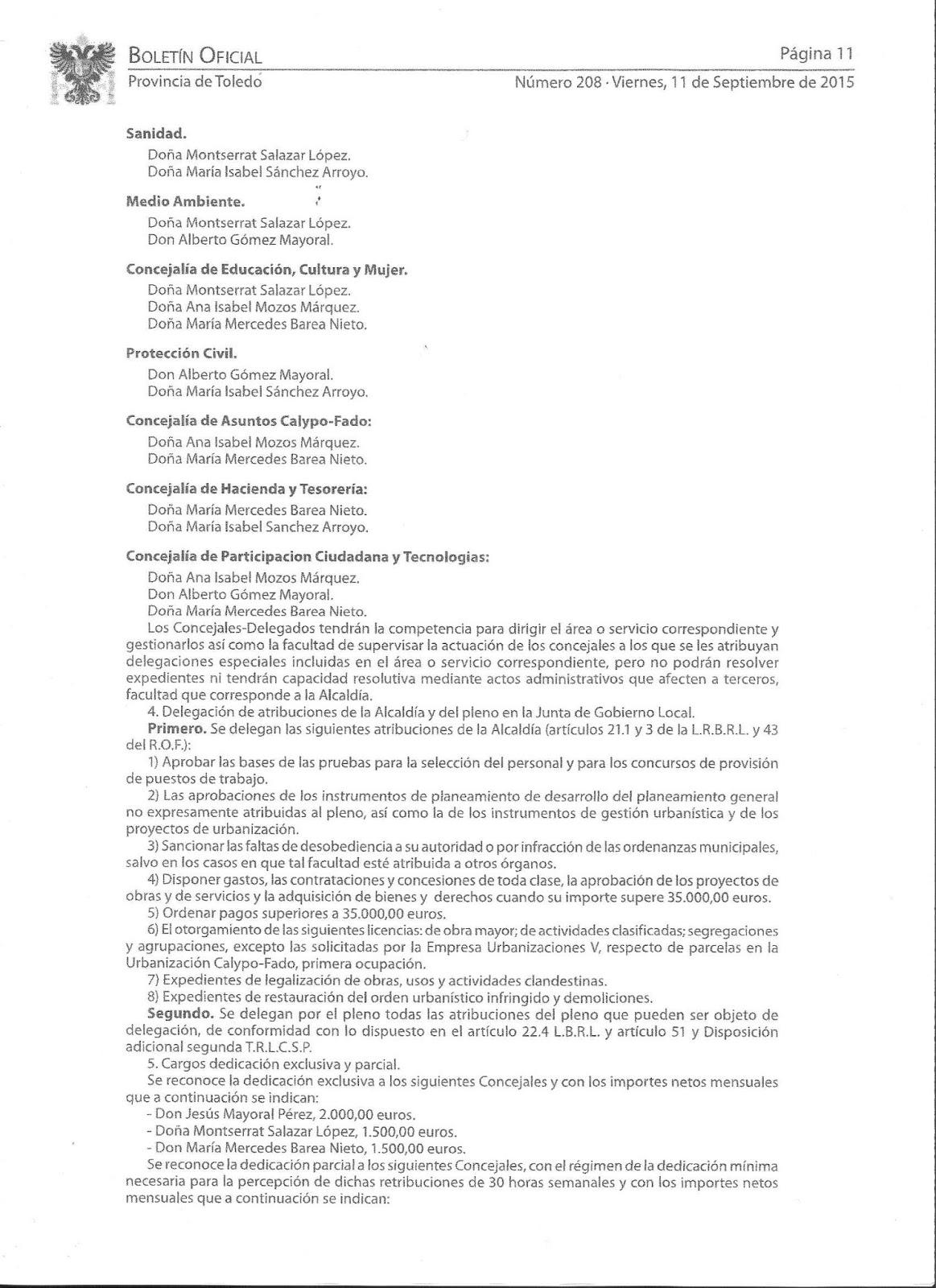 CONCEJALIAS CASARRUBIOS DEL  MONTE