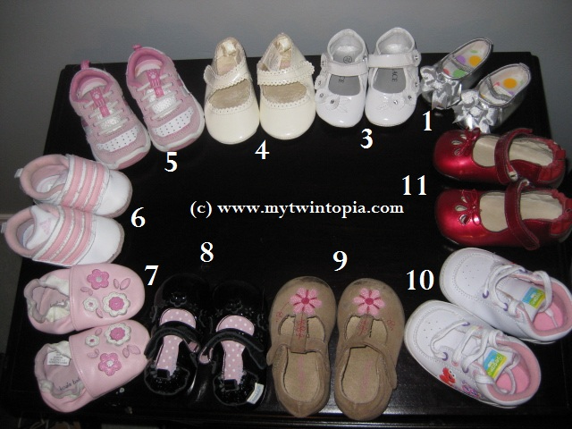 MyTwintopia : Adios Crib Shoes