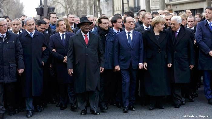 الوفد المغربي يرفض المشاركة في المسيرة الفرنسية و السبب