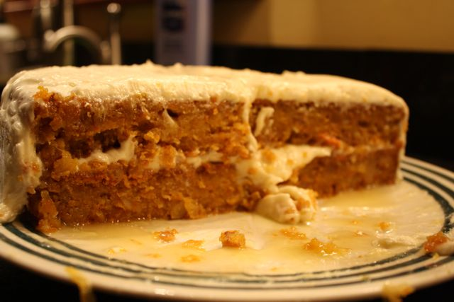 Carrot Cake Made In Bread Machine