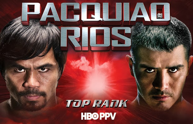 Pacquiao vs Rios Fight Live Stream.
