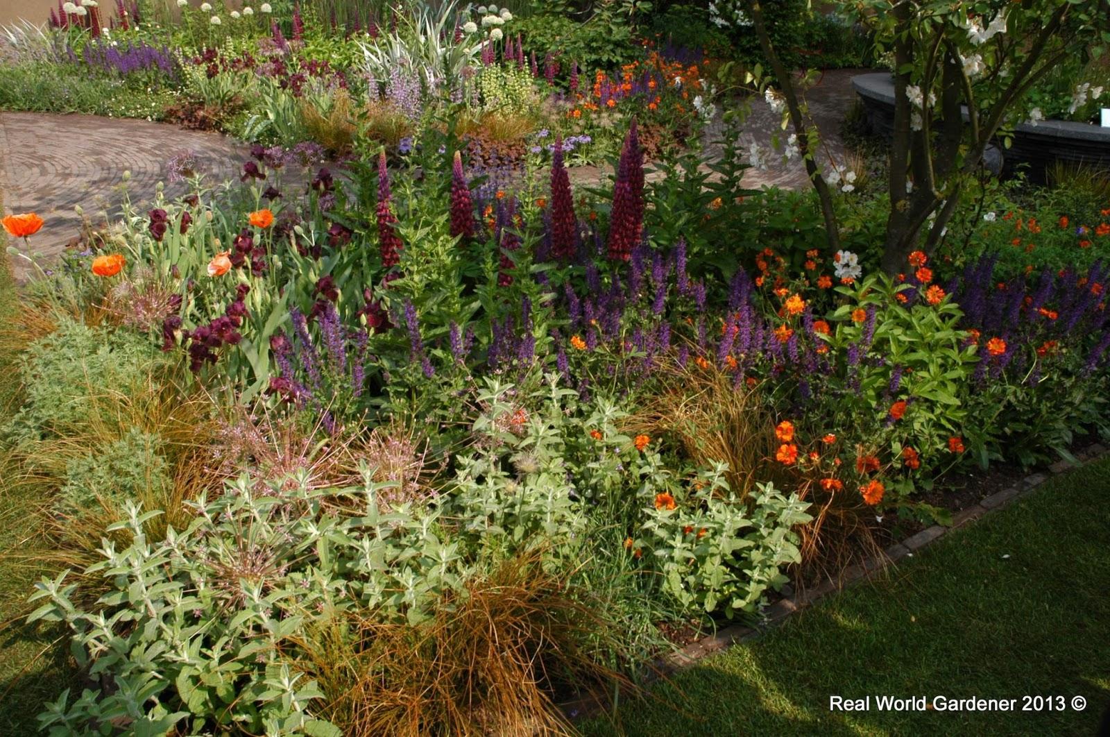 Real World Gardener: Red Hot Garden Design