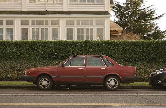 1982 Audi 4000S 4E sedan.