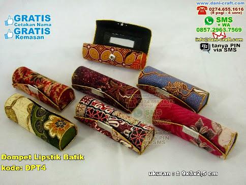 Dompet Lipstik Batik Karton Kain Batik