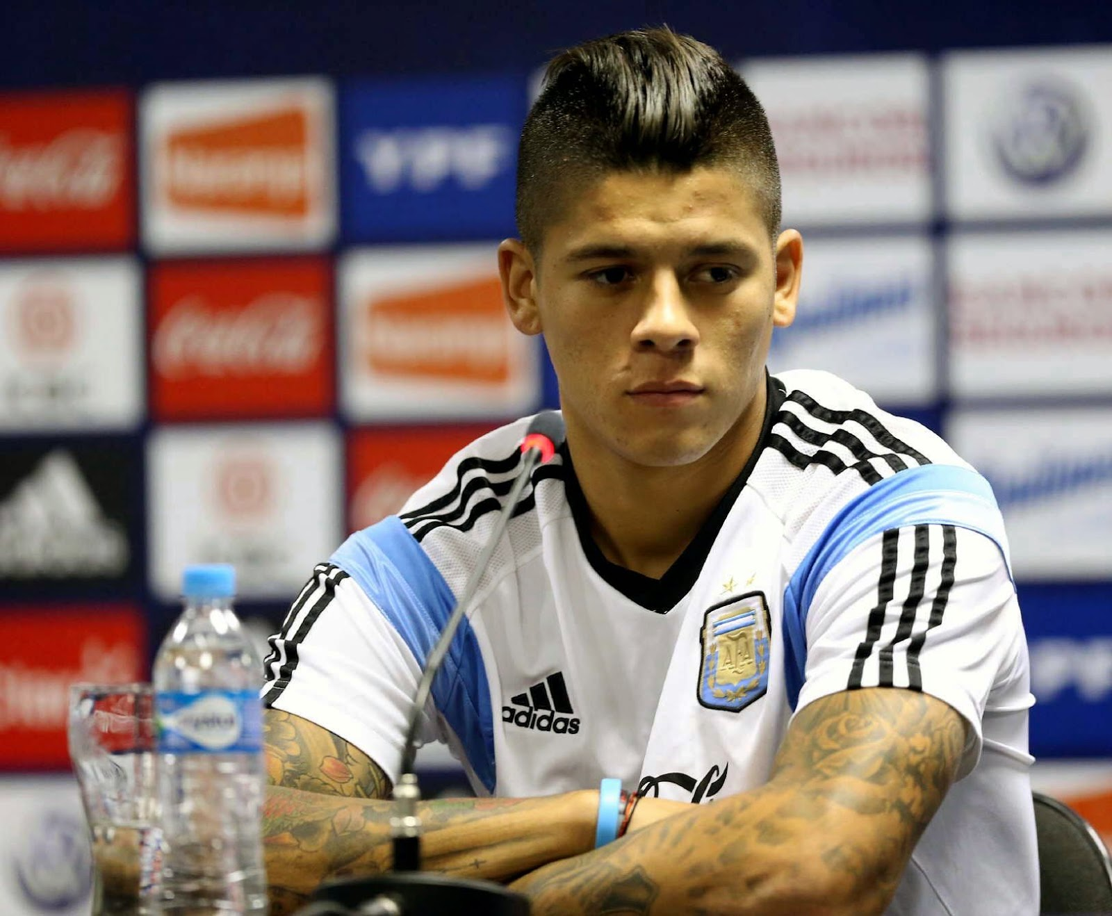 Marcos Rojo Tattoo