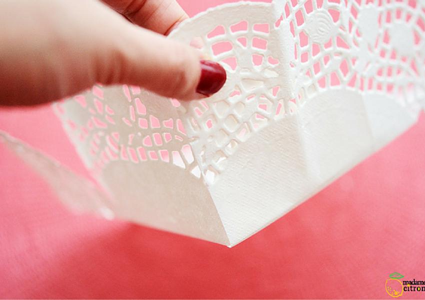 Diy cestitos hechos con blondas de papel by Habitan2