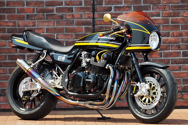 Racing Caf U00e8  Kawasaki Zephyr 750 No 007 By Bull Dock