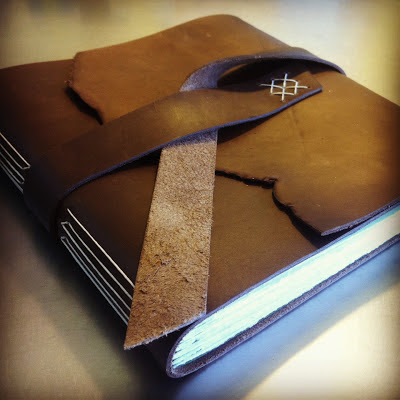 leather Instagram photo album (handmade)