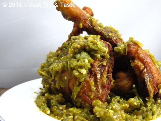 Resep Membuat Sambal Ayam Goreng Kremes